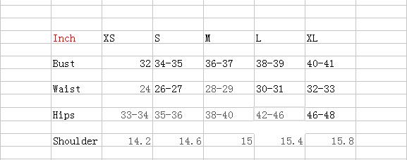 the clothing size form 1